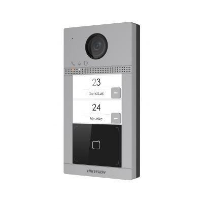 DS-KV8213-WME1 - IP dveřní interkom, 2-tlačítkový, čtečka karet, 2MPx kamera, WiFi