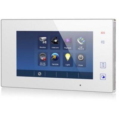DPM-D275TMDV2 - Zánovní - bytový barevný monitor pro 2-drátový systém D2, dotyk. obrazovka + tlačítka, CZ menu