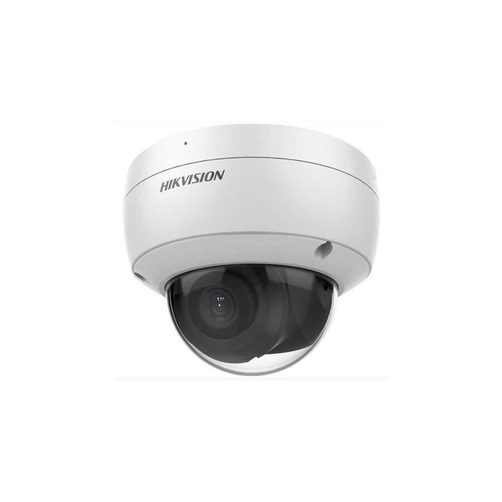 DS-2CD2186G2-I(2.8mm) - 8Mpix IP Dome Acusense kamera, IR 30m, Audio, Alarm, mikrofon, IP