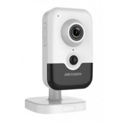 DS-2CD2463G0-IW(4mm)(W) - 6MPix IP Cube kamera, IR 10m, PIR, Wi-Fi, mikrofon + reproduktor