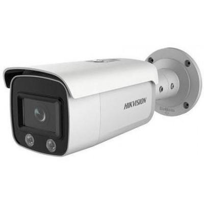 DS-2CD2T47G2-L(4mm) - 4MPix IP Bullet ColorVu AcuSense kamera, LED 60m, WDR 130dB