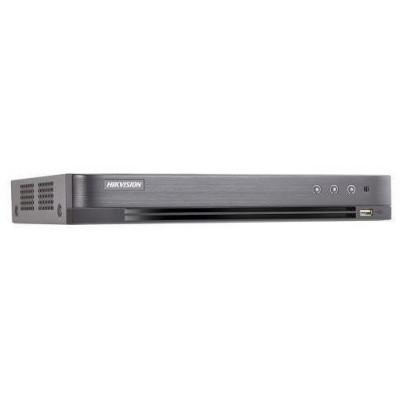 DS-7208HQHI-K2(S) - 8 kanálový 8MPx TurboHD rekordér, 2x HDD, 8x audio s obrazem