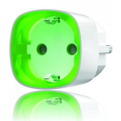 AJAX Socket - Dálkově ovladatelný zásuvkový adaptér, Bílý