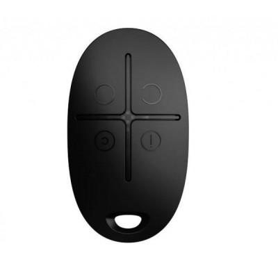 AJAX SpaceControl, černá - Bezdrátová klíčenka pro snadné ovládání systému, černá
