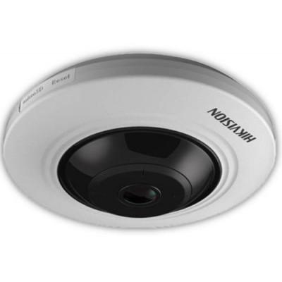 DS-2CC52H1T-FITS(1.1mm) - 5MPix HDTVI Fisheye kamera, IR 20m, Audio