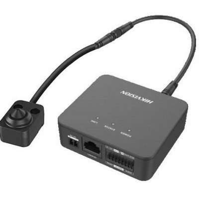 DS-2CD6425G0-20(3.7mm)(8m) - 2MP PINHOLE skrytá mini kamera s WDR, 8m kabel, obj. 3,7mm