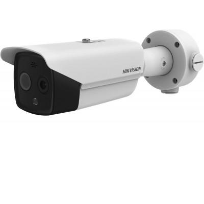 DS-2TD2617-10/PA - IP duální termo-optická kamera s 9,7mm obj., PoE+, Audio and Alarm IN/OUT