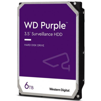 HDD 6TB WD62PURZ - Western Digital PURPLE 6TB 128MB cache