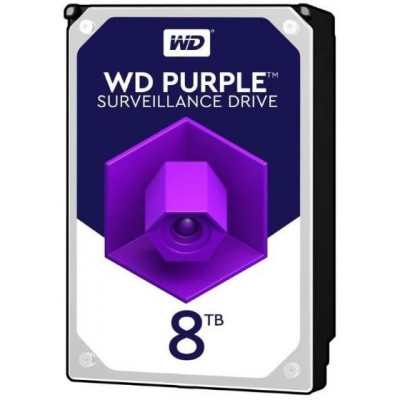 HDD 8TB WD82PURZ - Western Digital PURPLE 8TB 256MB cache