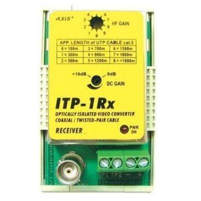 ITP-1Rx - poškozený obal - převodník koax/twist ITP-1Rx s opt.oddělovačem