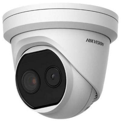 DS-2TD1217-2/V1 - IP termo-optická Turret kamera, obj. 1,8mm, PoE+, AudioandAlarm IN/OUT