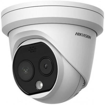 DS-2TD1217-6/PA - IP termo-optická Turret kamera, obj. 6,2mm, PoE+, AudioandAlarm IN/OUT