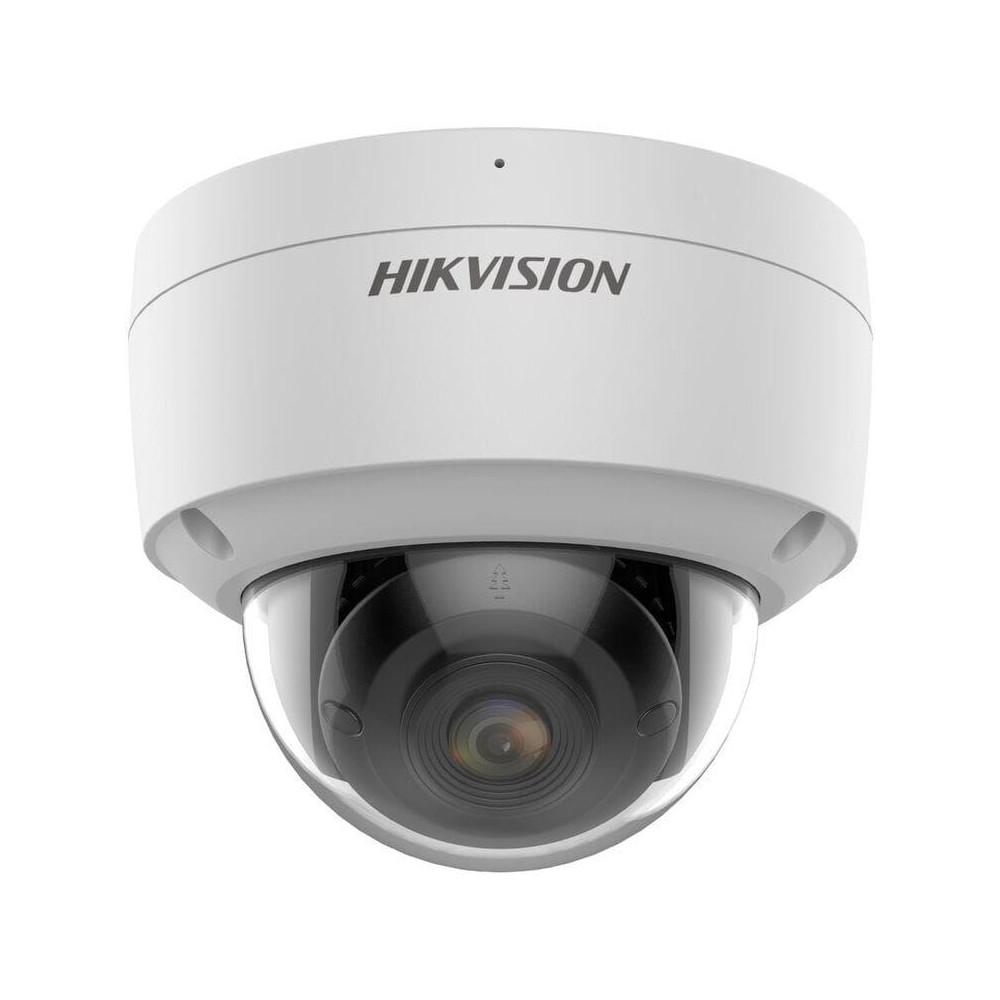 DS-2CD2147G2-SU(2.8mm) - 4MPix IP Dome ColorVu AcuSense kamera, WDR 130dB, audio, alarm, mikrofon, IP67, IK10