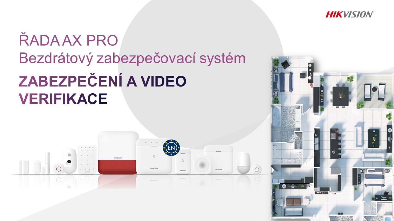 Zabezpečovací systémy HIKVISION AX PRO