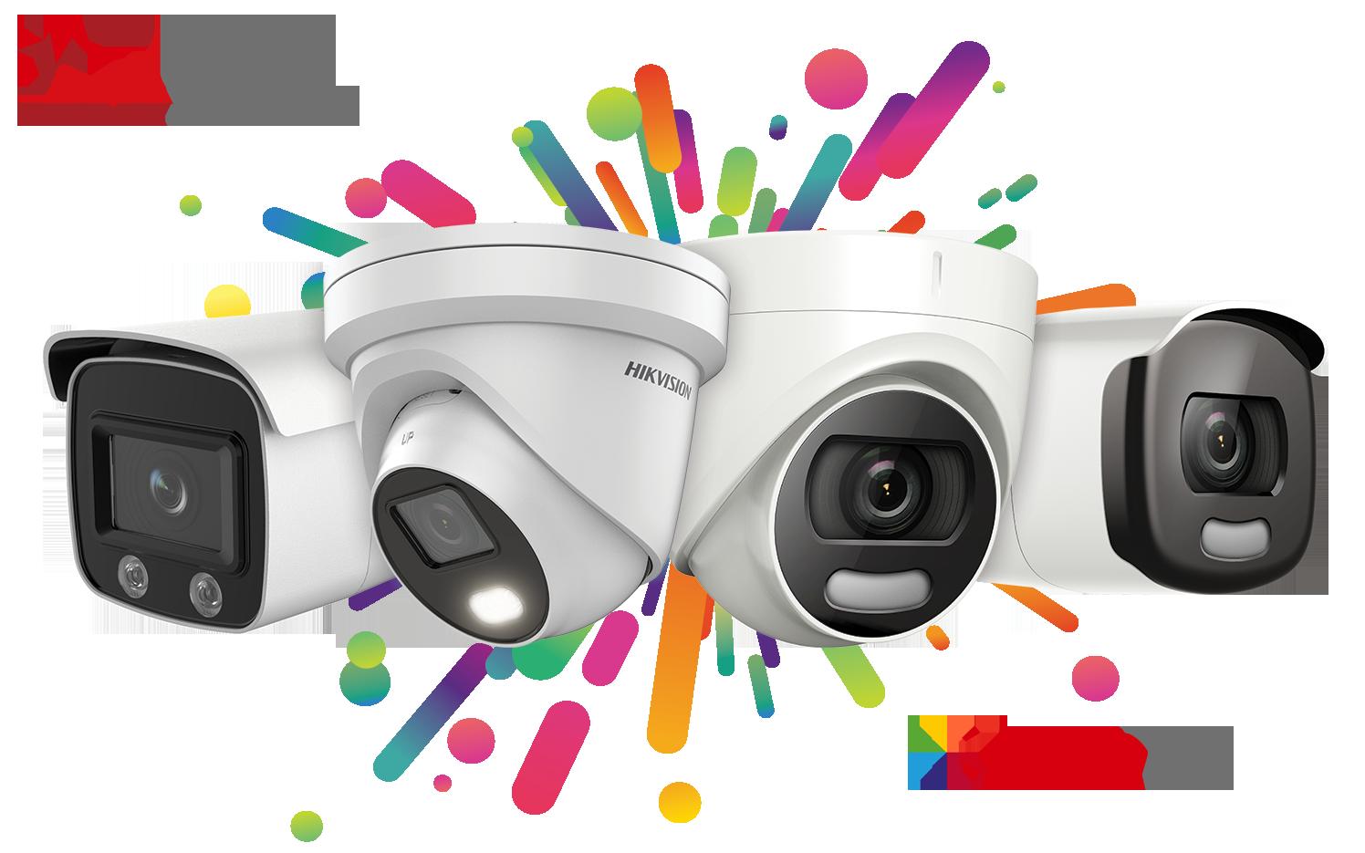 Nová řada ColorVu kamer s technologií AcuSense